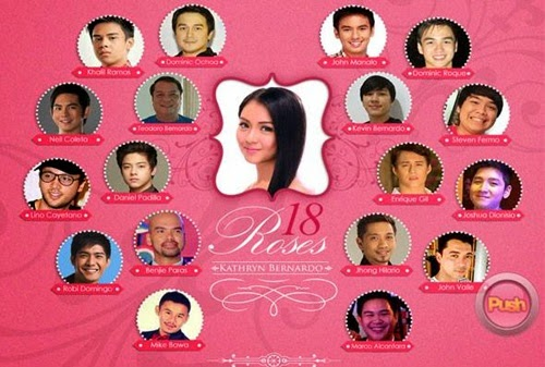 Kathryn Bernardo Debut: 18 Roses, Candles and Treasures Revealed ...