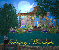 Fantasy Moonlight digital fantasy backgrounds