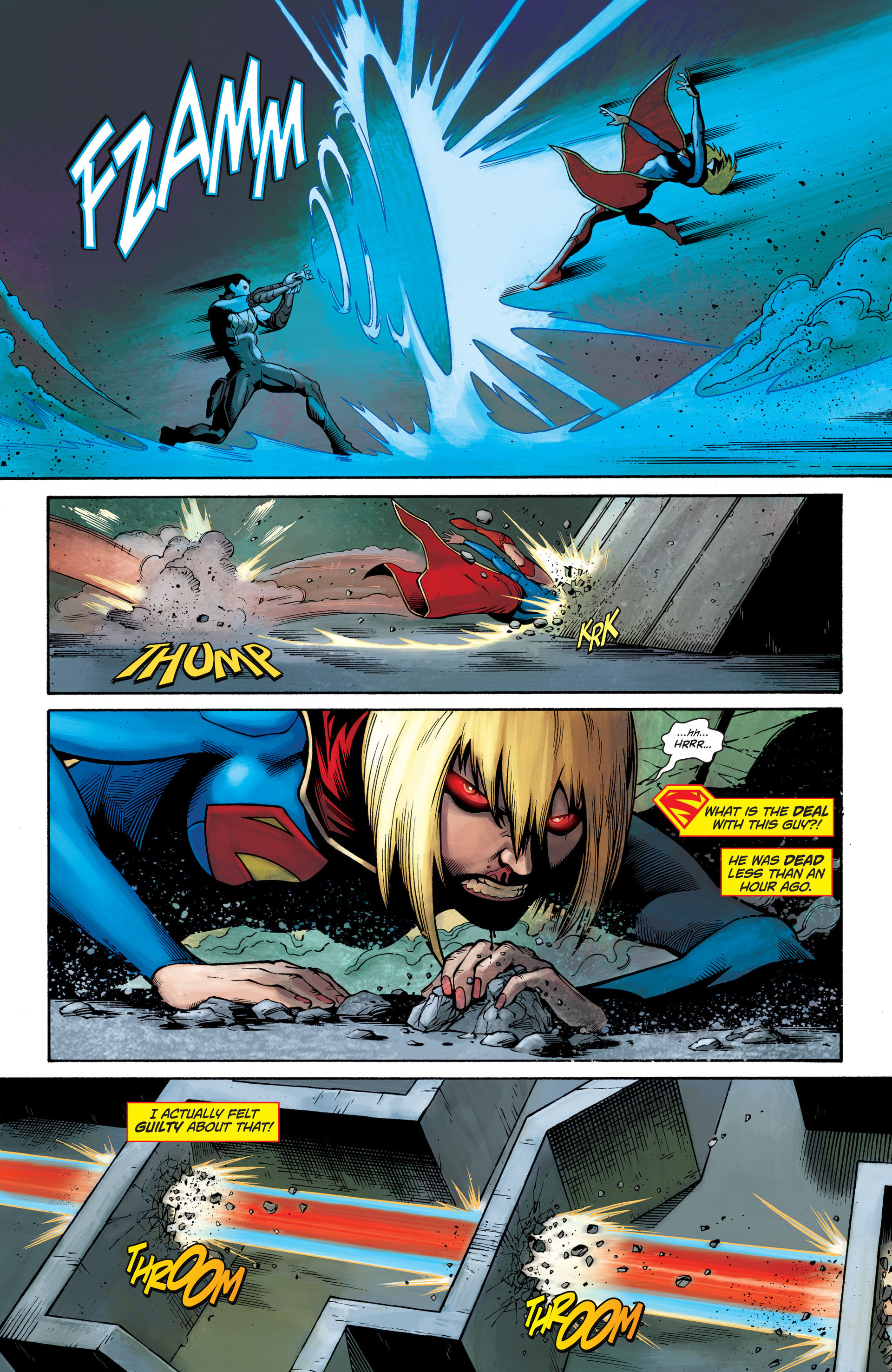 Supergirl (2011) Issue #28 #30 - English 6