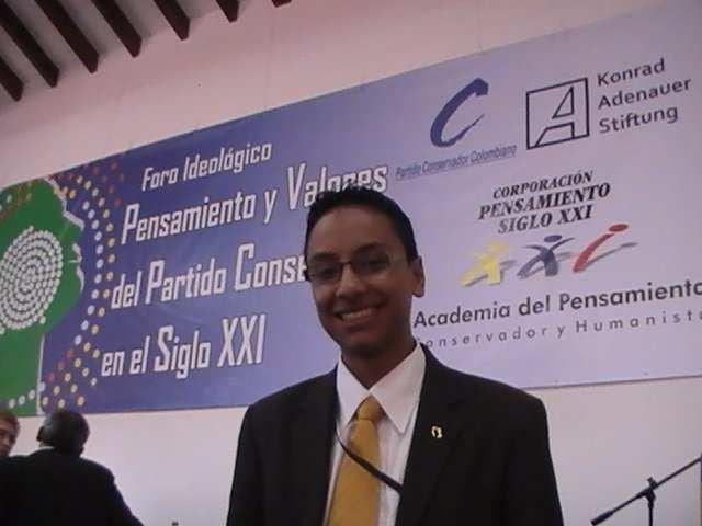 Miguel Angel Olarte Foro Ideológico Villa de Leyva, Boyaca