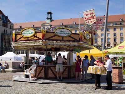 Altmarkt en Dresde