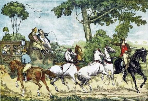 paintings about bushrangers