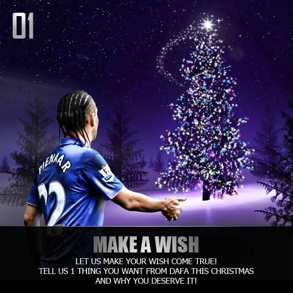 Dafabet says Merry Christmas and Make a Wish