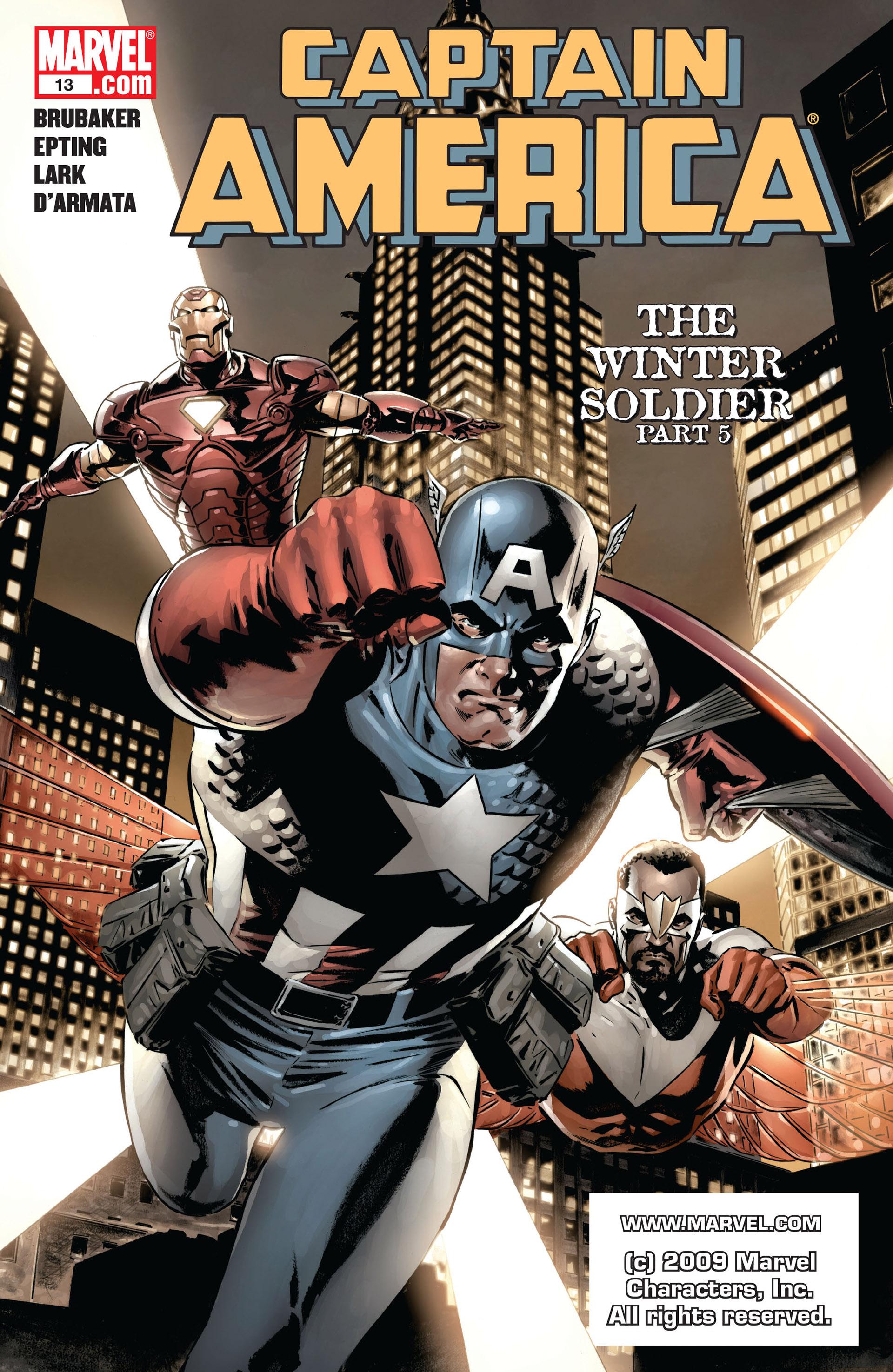 Captain America (2005) Issue #13 #13 - English 1