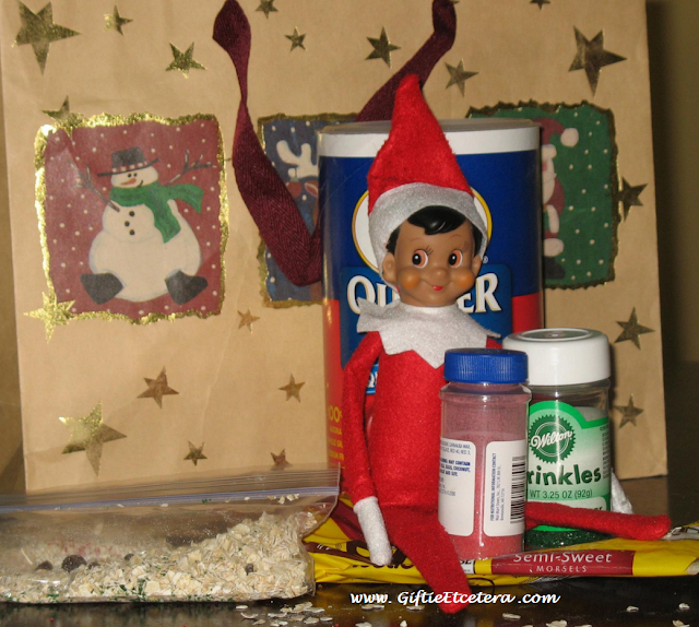 Elf on the Shelf Ideas, reindeer food