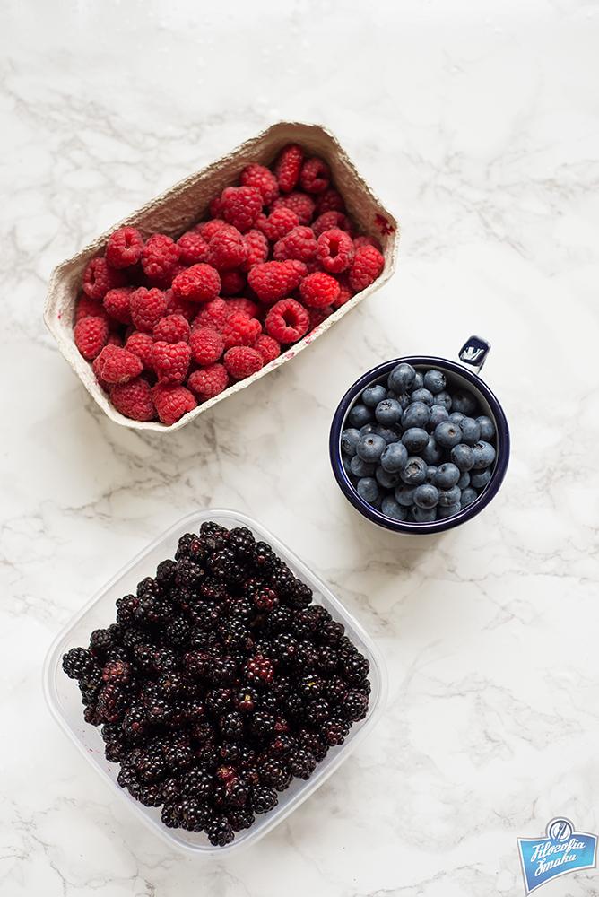 Koktajl z owoców leśnych