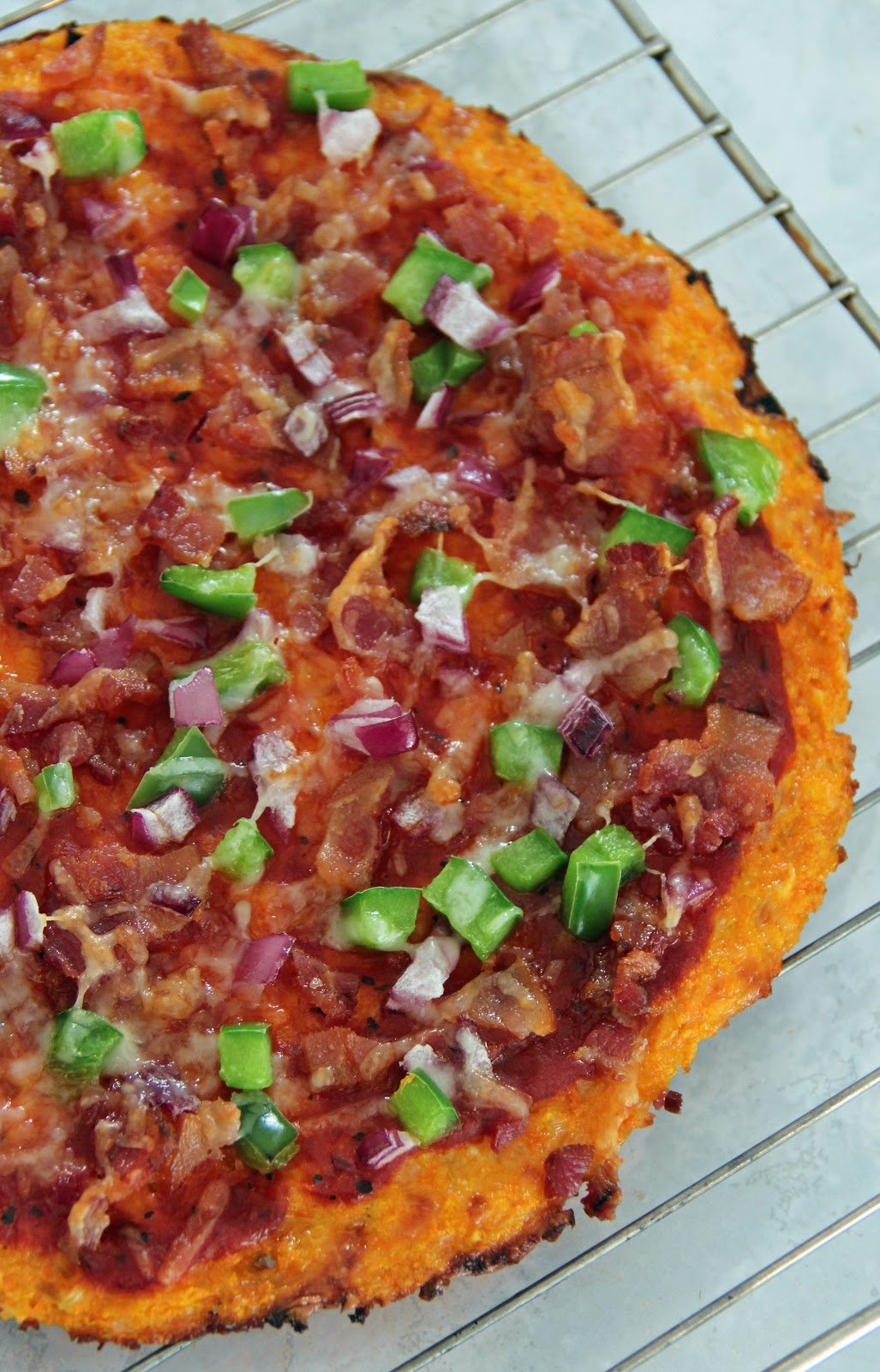 share at least one healthier Easter treat. This Carrot Crust Pizza ...