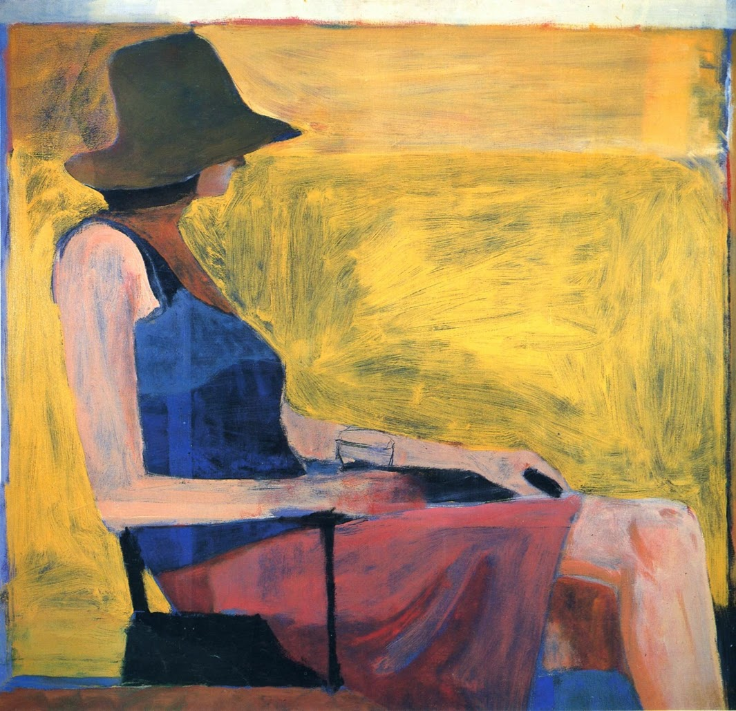 Richard Diebenkorn ~ Abstract and Figurative Expressionism painter ...