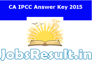 CA IPCC Answer Key 2015