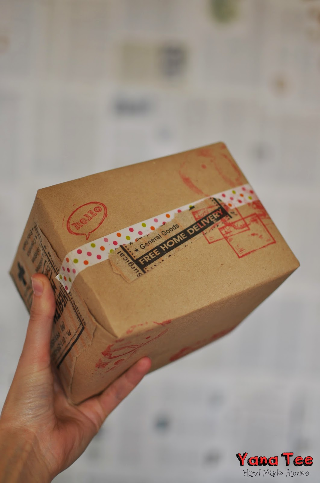 DIY, homemade, Yana tee, wrapping,  яна ти, упаковка подарков, новый год