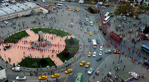 Taksim Meydanı İstanbul