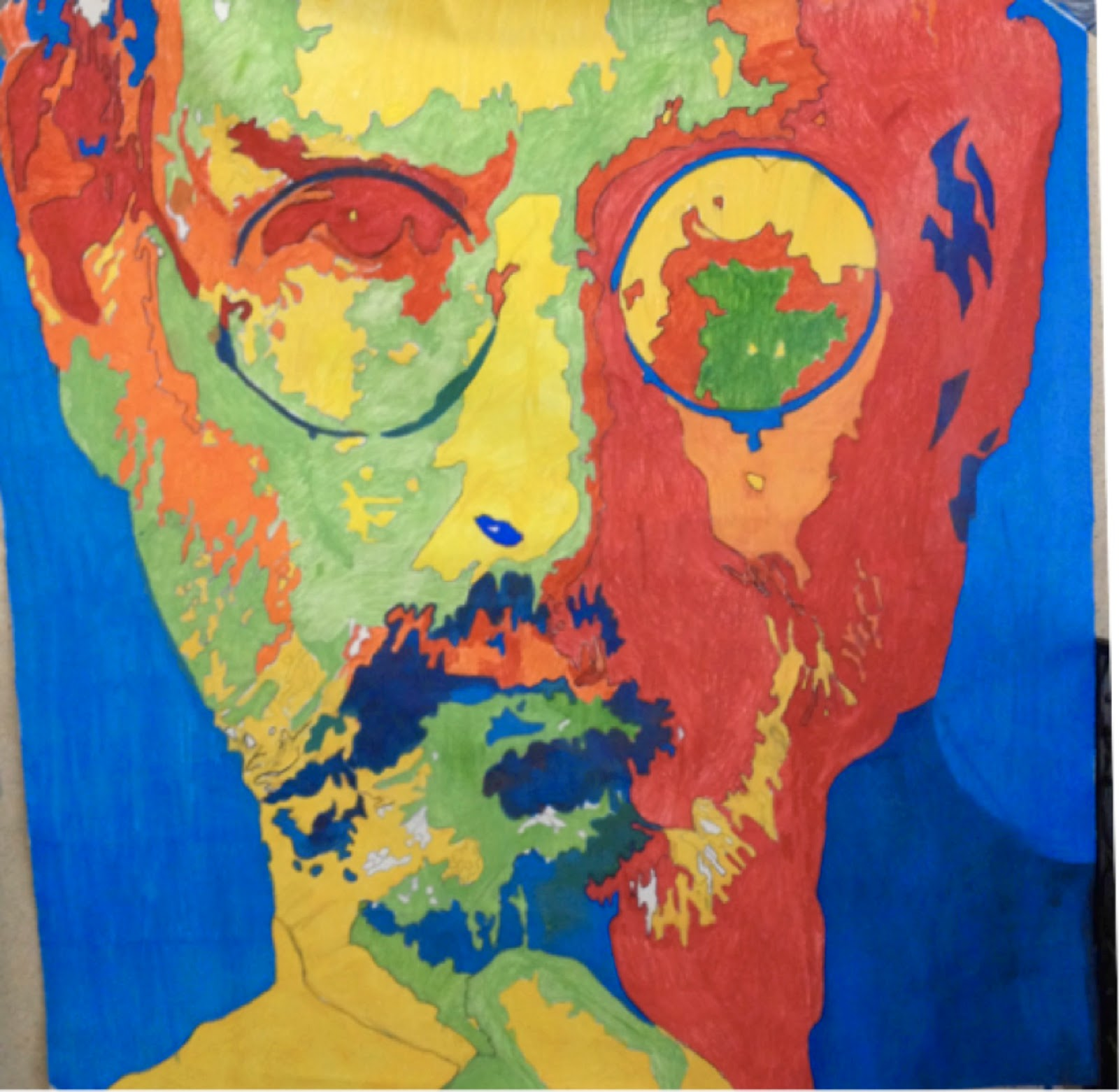 the afh blog steve jobs painted by grade 6
