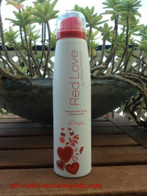 cuidados personales desodorante red love chica