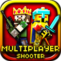 Pixel Gun 3D - Block World Pocket Survival Shooter With Skins Maker For Minecraft (PC edition) & Multiplayer App iTunes App Icon Logo By Alex Krasnov - FreeApps.ws