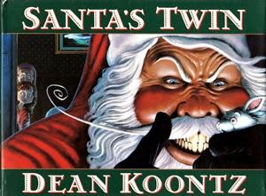 Portada de Santa's Twin, de Dean Koontz