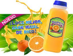 Tampico nuevo sabor a ponche de frutas