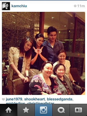 Kim Chiu and Xian Lim Spotted: March 2012