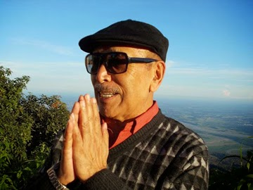 Veteran actor & director Bonny Pradhan in Kurseong.