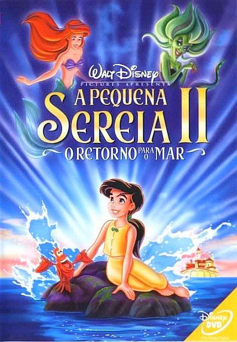 A Pequena Sereia II: O Retorno Para o Mar 2000 Torrent - BluRay 720p/1080p Dual Áudio