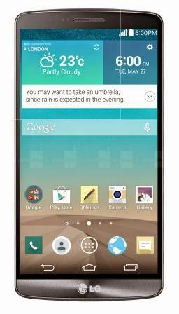 LG G3 resmi tersedia di Indonesia tanggal 18 Juni, dengan harga 7 juta-an