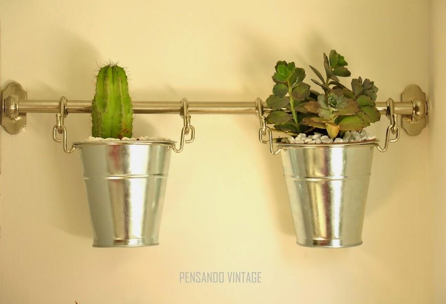 imagen imagen jardines verticales con tuberas
