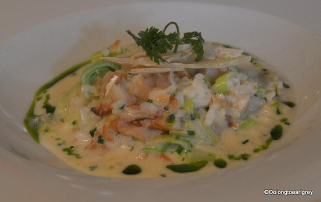 Haddock and Leek Risotto