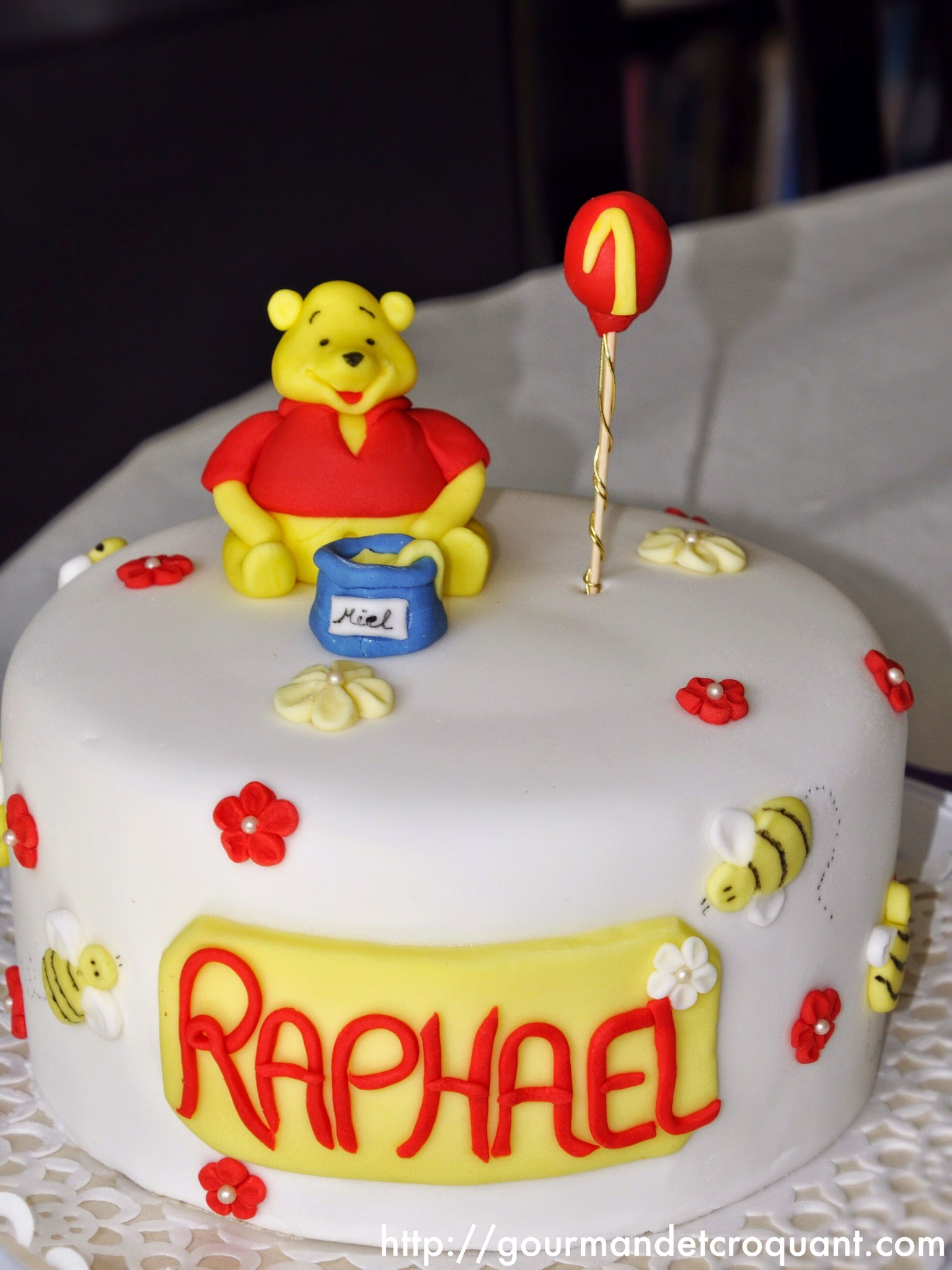 Préférence Gourmand et Croquant: Gâteau d'anniversaire Winnie l'Ourson BO39