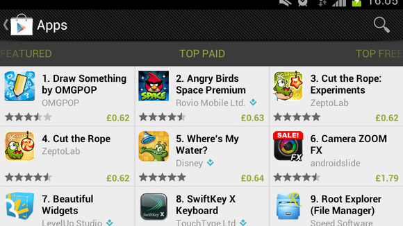 Top 10 Paid Apps in Google Play (May 2013) - Top 10 Lists of