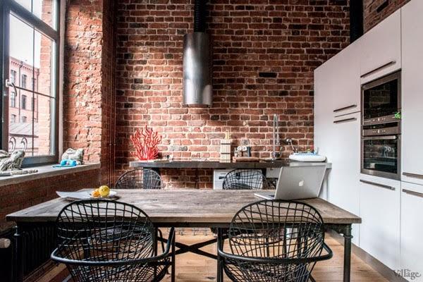 Cocinas Loft | Dave S Loft 20 Cocinas Abiertas En Un Loft