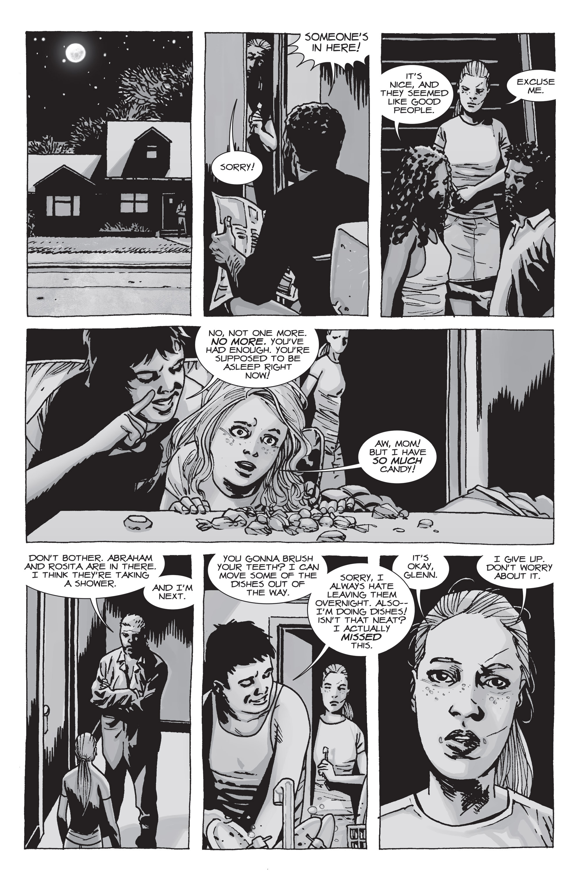 The Walking Dead Issue #71 Page 20