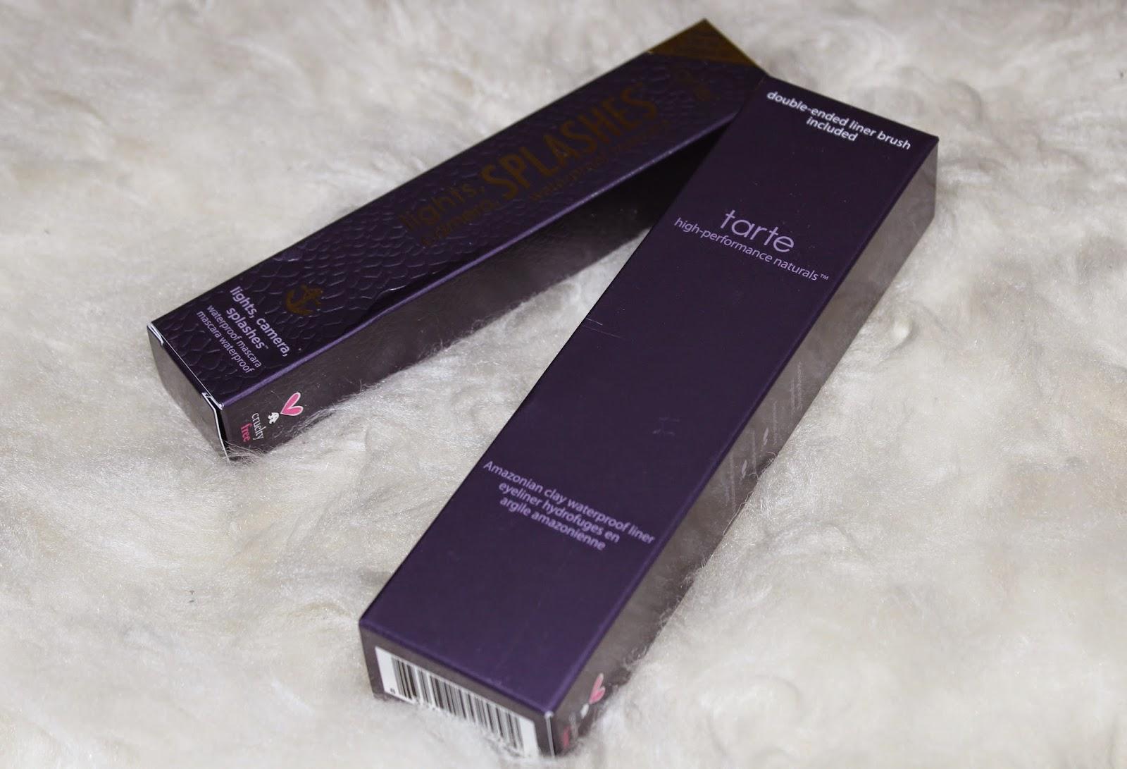 diary of a makeup geek blog tarte lights camera splashes mascara amazo. Black Bedroom Furniture Sets. Home Design Ideas