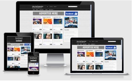 Template Blog SEO dan Responsive