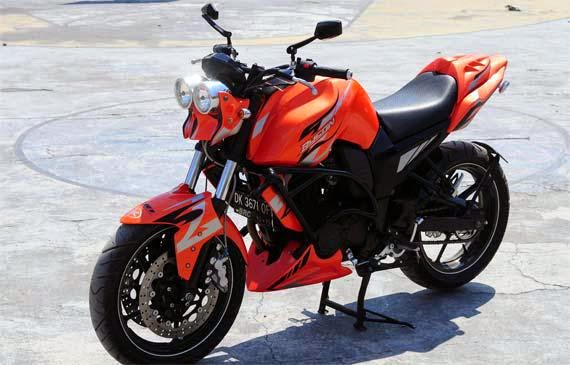 Top modifikasi motor byson street fighter