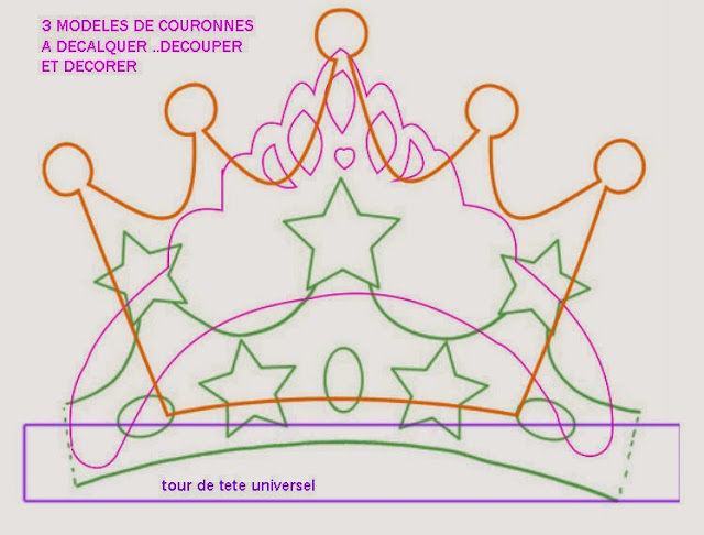 Other 3 crowns templates.