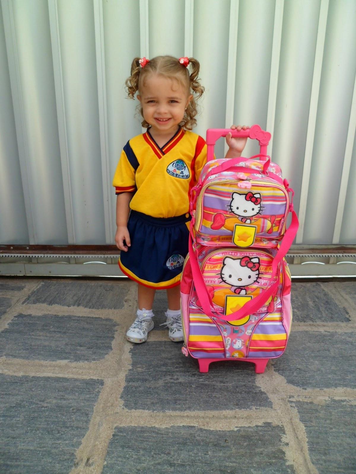 Kamille Nossa Filha Nosso Tesouro O Primeiro Dia De Aula