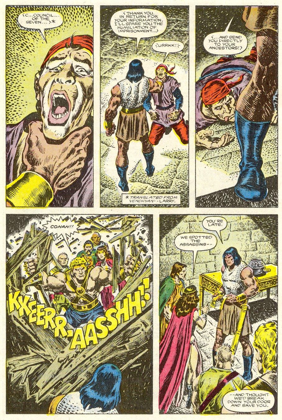 Conan the Barbarian (1970) Issue #187 #199 - English 21