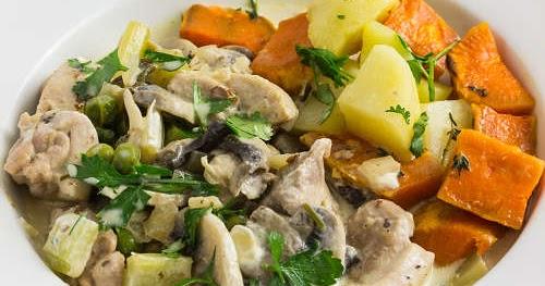 法式蘑菇炆雞肉【經典美味】French Mushroom Chicken
