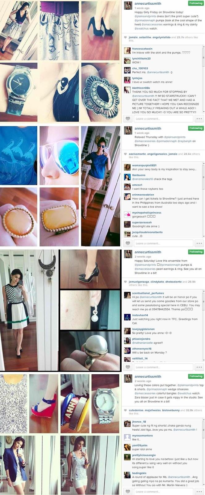 Anne Curtis Instagram Anne curtis' new ootd partner: