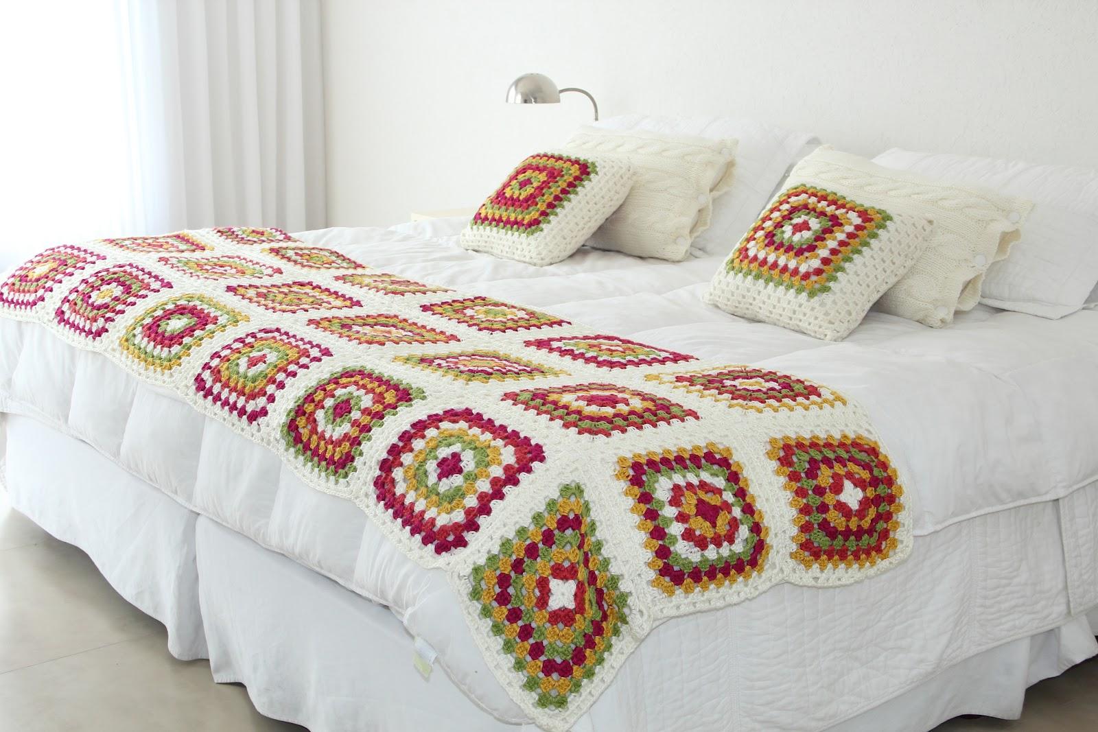 La lana deco - Pie de cama ...
