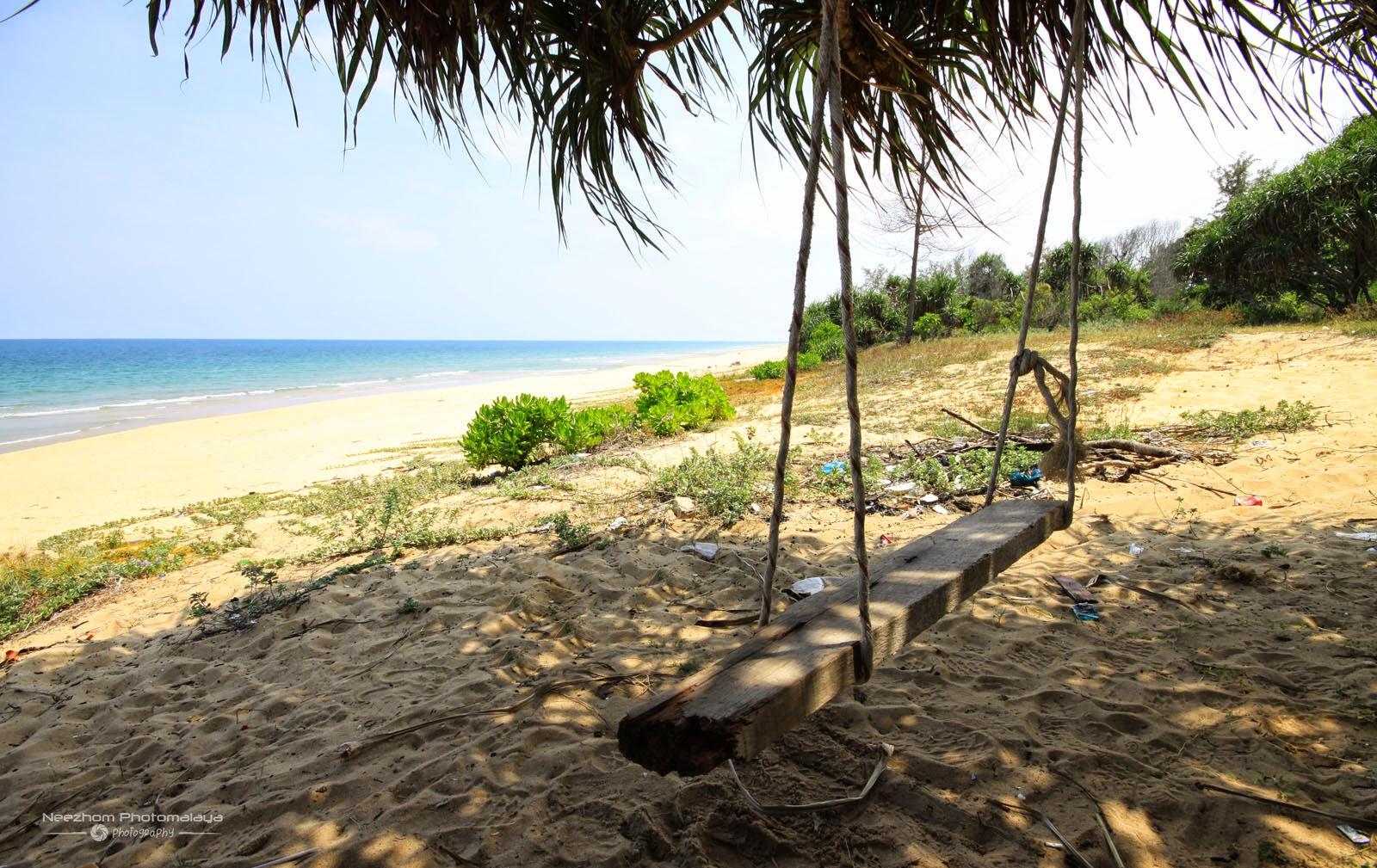 Buaian di Pantai Tanjung Jara, Dungun