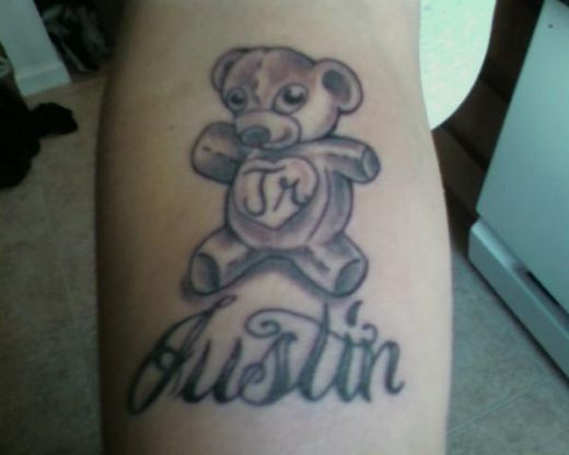 tattoo bear. this Teddy Bear Tattoo