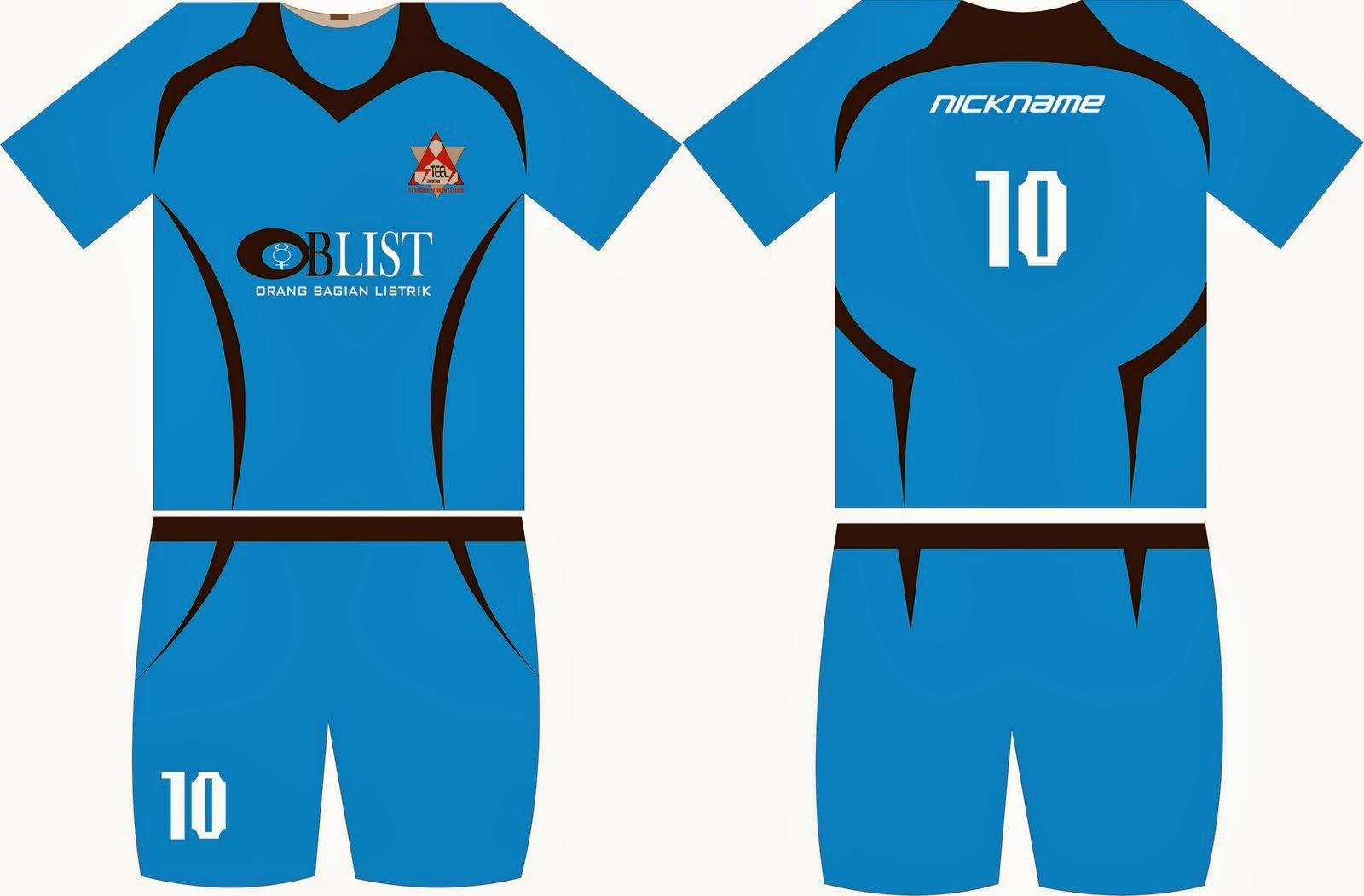 ... memesan sesuai dengan contoh desain kostum sepak bola terbaru dibawah