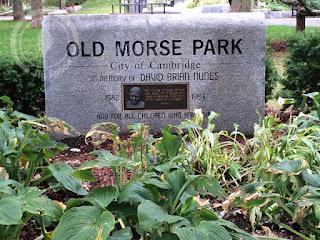 David Nunes Park plaque