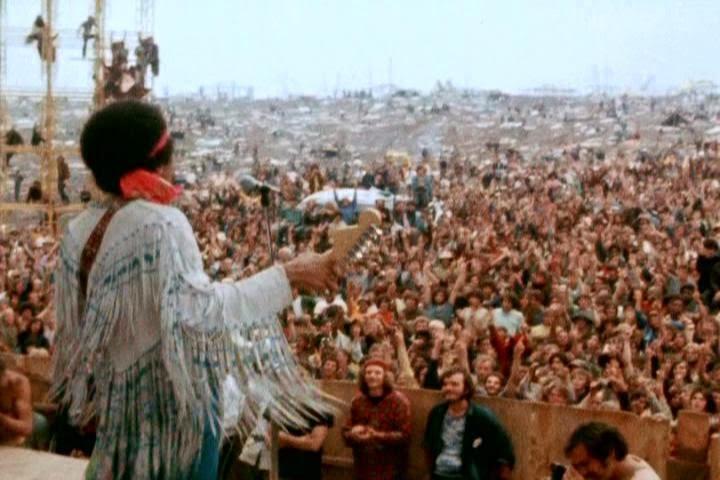 Woodstock: tres días para la historia.