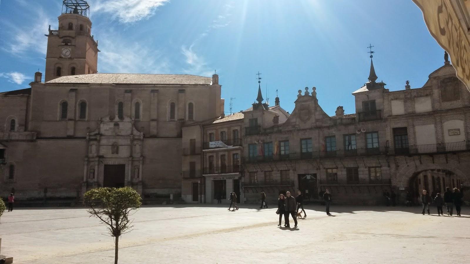Torre y Colegiata de San Antolín y Casa Consistorial, Medina del Campo