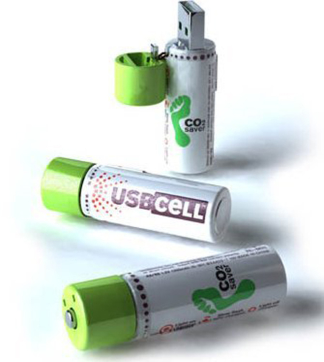 30 Insanely Clever Innovations That Need To Be Everywhere Already - USB rechargeable batteries.