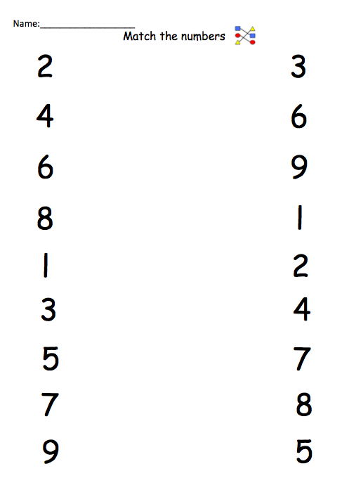 Number Names Worksheets » Trace Numbers 1-10 Worksheet - Free ...