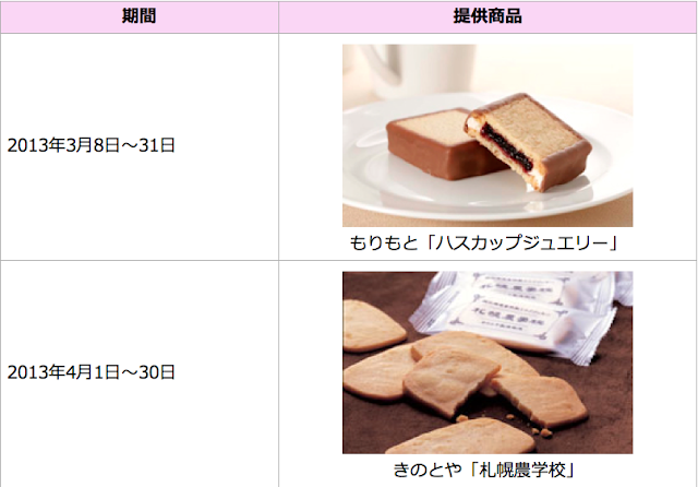Special snacks from Hokkaido available at JAL Sakura Lounge at CTS