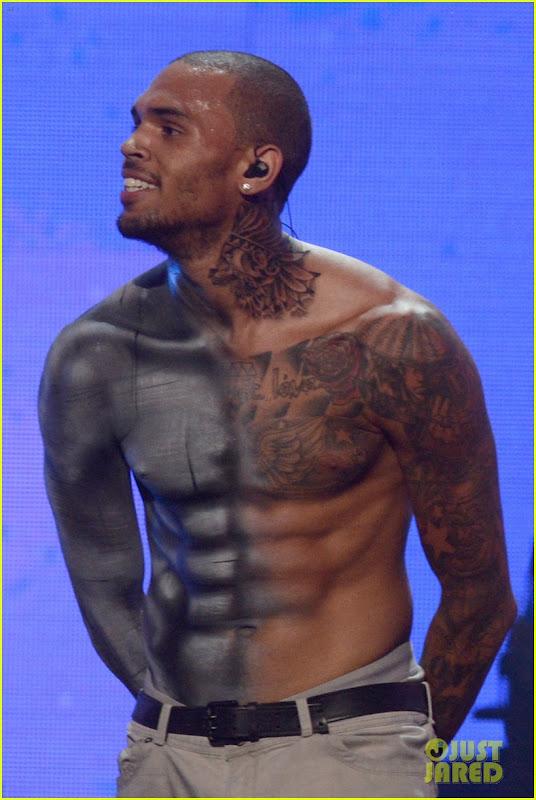 Chris Brown Shirtless 2012 My FABE Music: ...