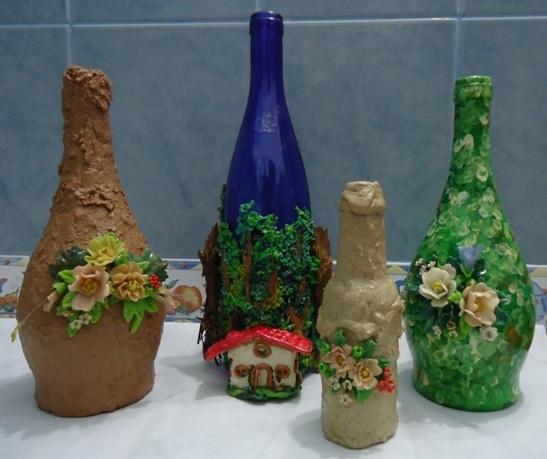 Trabajos de Miriam: Botellas